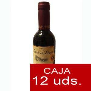 Vino - Vino Señorio de los Llanos Crianza 37.5 cl CAJA COMPLETA 12 UDS