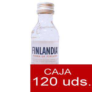 Vodka - Vodka FINLANDIA 5cl. CAJA 120 UDS