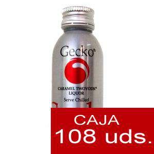 Vodka - Vodka Gecko Caramel 5cl CAJA DE 108 UDS