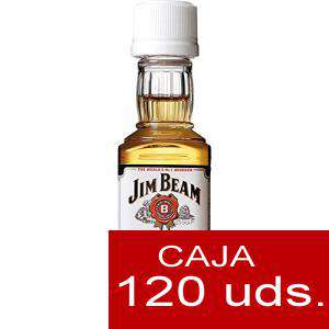 Whisky - Bourbon Jim Beam (Tapón Blanco) CAJA DE 120 UDS