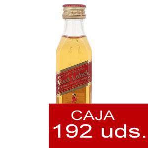 Whisky - Whisky Johnnie Walker Etiqueta Roja CAJA DE 192 UDS - SUPER OFERTA
