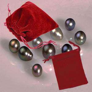Bolsa de Antelina 7x9 - Bolsa de Antelina Roja 7x9 capacidad 7x7 cms