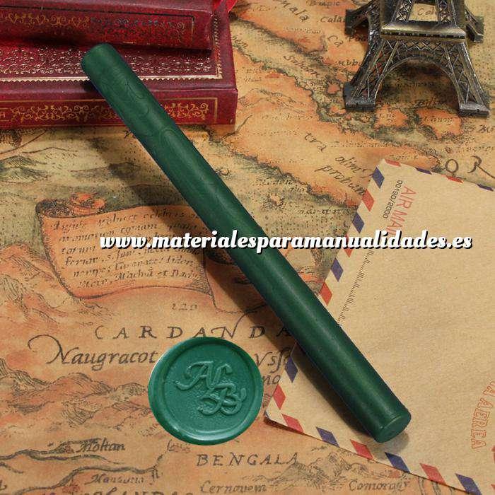 Imagen Barras para pistola Barra Lacre 10mm Flexible pistola VERDE BOTELLA