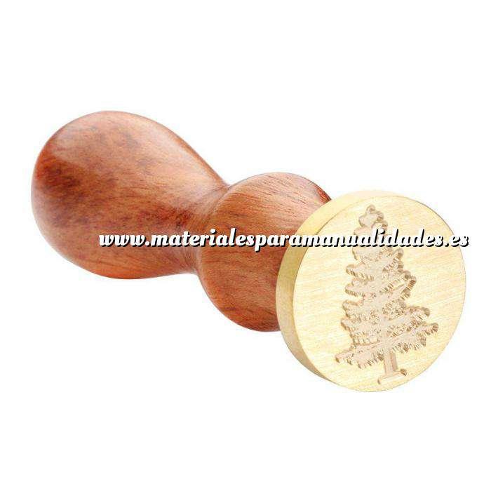 Imagen Símbolos Sello lacre mango largo - NAVIDAD - Arbol MOD.2(Últimas Unidades) (Últimas Unidades)