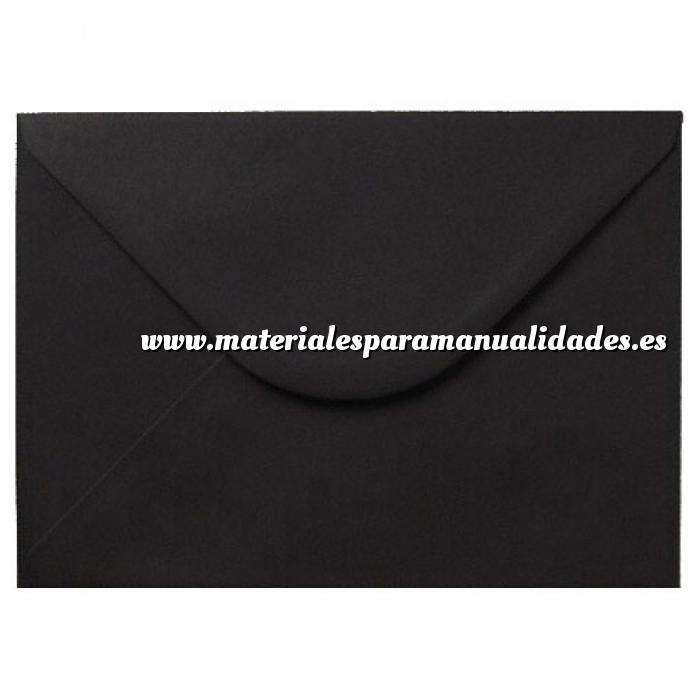 Imagen Sobres C5 - 160x220 Sobre negro c5