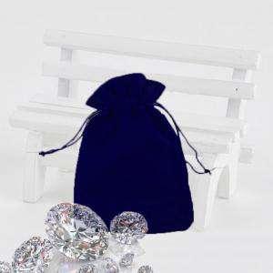 Bolsa de Antelina 9X12 - Bolsa de Antelina Azul 9x12 capacidad 9x9 cms