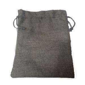 Imagen Bolsas de Yute 13x18 cm Bolsa de Yute Gris 13x18 capacidad 12x15 cms.