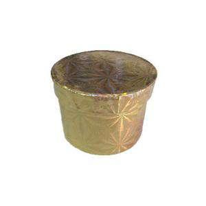 Imagen Cajitas para regalo Caja de color metalizada rojo y dorado (Últimas Unidades)