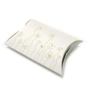 Cajitas para regalo - Cajita Decorada Blanca (Pack de 10 ud.)