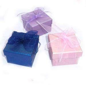 Cajitas para regalo - Cajita para anillos o regalitos - Colores surtidos