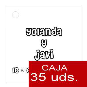 Etiquetas impresas - Etiqueta Modelo A03 (Paquete de 35 etiquetas 4x4)