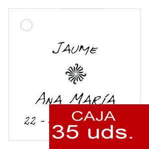 Etiquetas impresas - Etiqueta Modelo D04 (Paquete de 35 etiquetas 4x4)