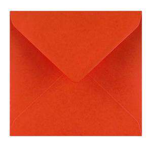 Sobres Cuadrados - Sobre rojo Cuadrado (Rojo Amapola)