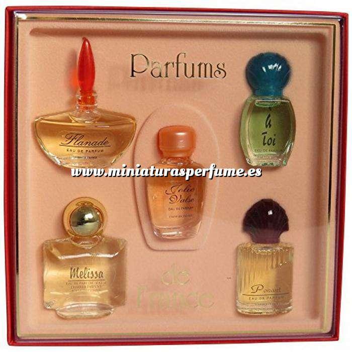 Imagen EDICIONES ESPECIALES Set de miniatura -LES PARFUMS DE FRANCE-, 28.8 ML (Últimas Unidades)