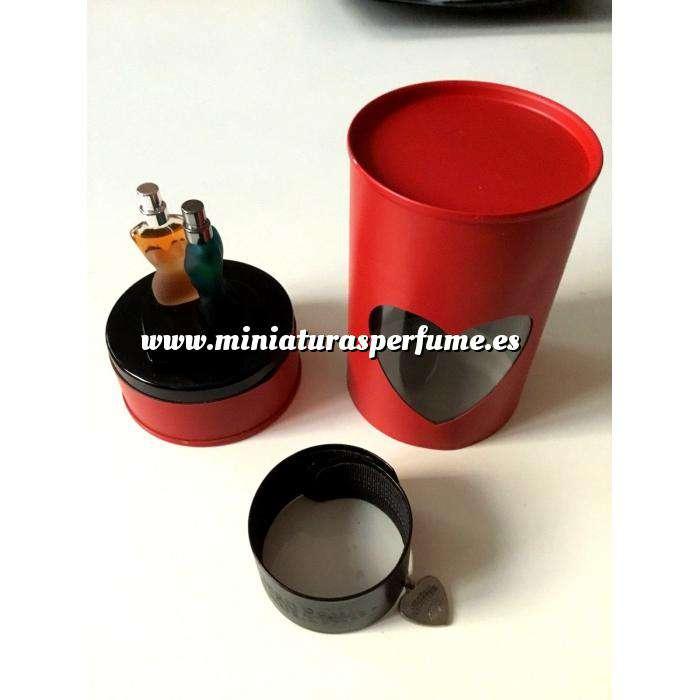Imagen EDICIONES ESPECIALES Valentine Mini Duo Perfume Set - Classique más Le Male Eau de Toilette by Jean Paul Gaultier 3.5ml.x2 (EDICIÓN ESPECIAL - Estuche corazon rojo) (Últimas Unidades)