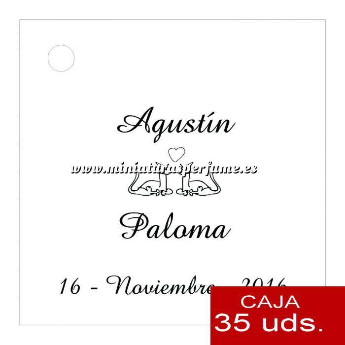 Imagen Etiquetas impresas Etiqueta Modelo C04 (Paquete de 35 etiquetas 4x4)