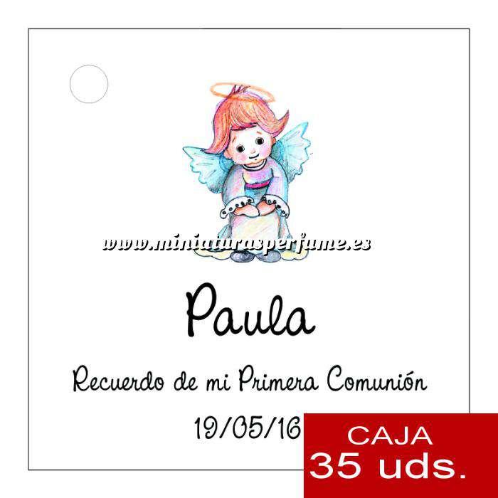 Imagen Etiquetas impresas Etiqueta Modelo C06 (Paquete de 35 etiquetas 4x4)