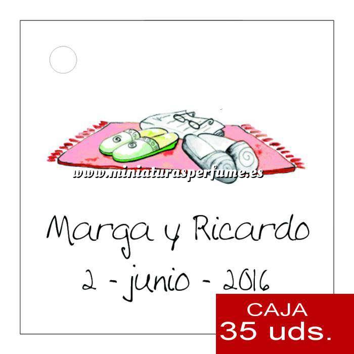 Imagen Etiquetas impresas Etiqueta Modelo D05 (Paquete de 35 etiquetas 4x4)