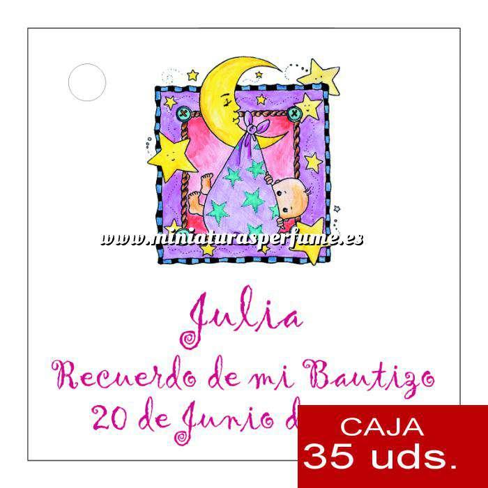 Imagen Etiquetas impresas Etiqueta Modelo D27 (Paquete de 35 etiquetas 4x4)