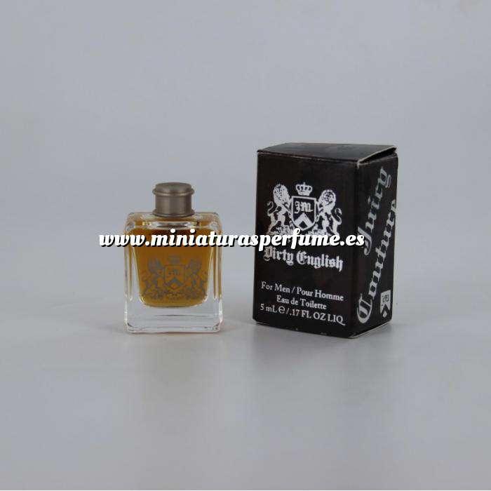 Imagen Mini Perfumes Hombre Dirty English Eau de Toilette by Men Juicy Couture 5ml. (Últimas Unidades)