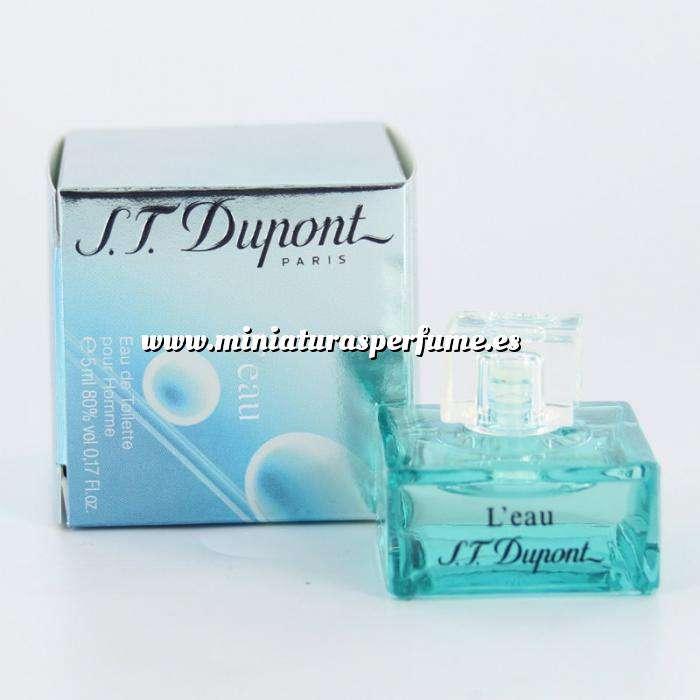 Imagen Mini Perfumes Hombre L Eau pour homme by S.T. Dupont 4.5ml. (Últimas Unidades)