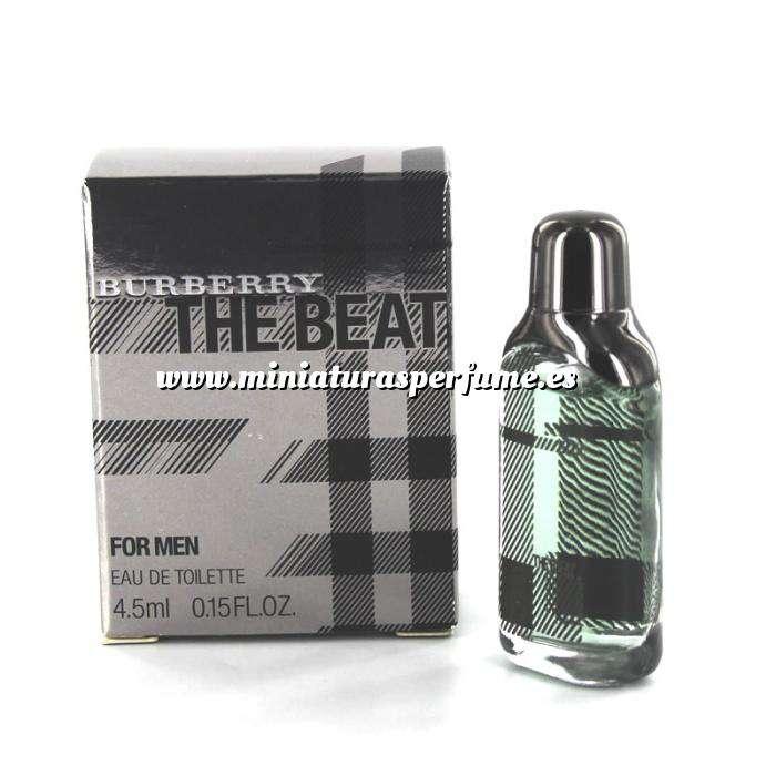 Imagen Mini Perfumes Hombre The Beat For Men Eau de Toilette by Burberry 4,5ml. (IDEAL COLECCIONISTAS) (Últimas Unidades)
