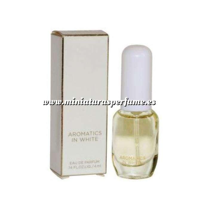 Imagen Mini Perfumes Mujer Aromatics In White Eau de Parfum by Clinique 4ml. (IDEAL COLECCIONISTAS) (Últimas Unidades)
