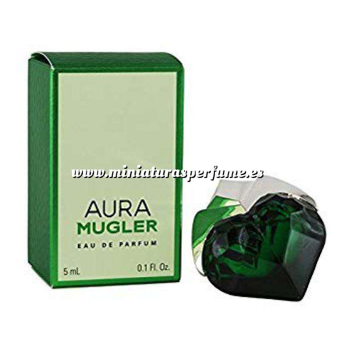 Imagen Mini Perfumes Mujer Aura Mugler eau de parfum 5 ml BY Thierry Mugler . (Últimas Unidades)