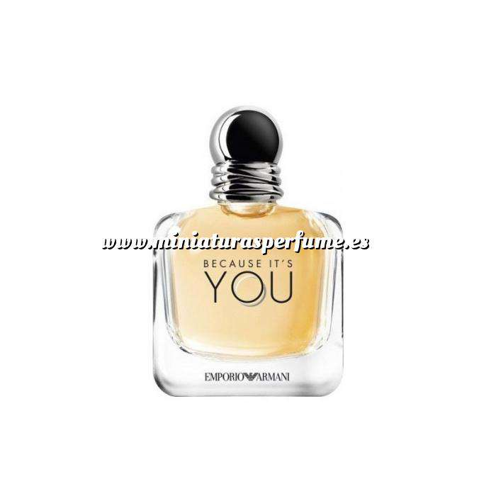 Imagen Mini Perfumes Mujer Because Its You 5ml - Emporio Armani - Caja blanca (Últimas Unidades)