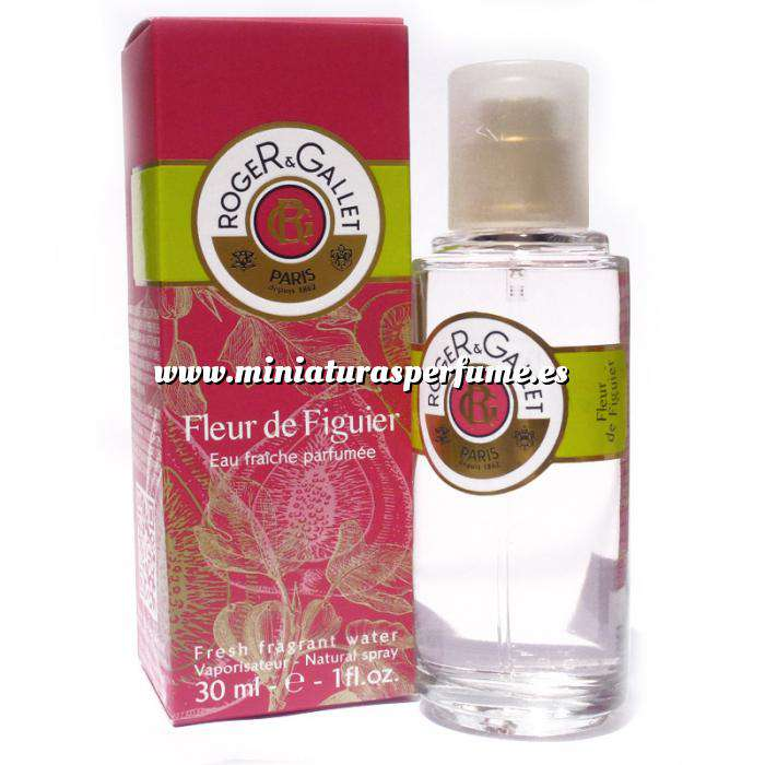 Imagen Mini Perfumes Mujer Fleur de Figuier EDP by Roger y Gallet 30ml. (Últimas Unidades)
