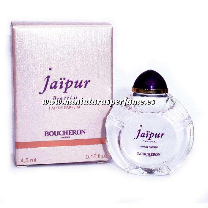Imagen Mini Perfumes Mujer Jaipur Bracelet Eau de Parfum by Boucheron Paris 4,5ml. (IDEAL COLECCIONISTAS) (Últimas Unidades)