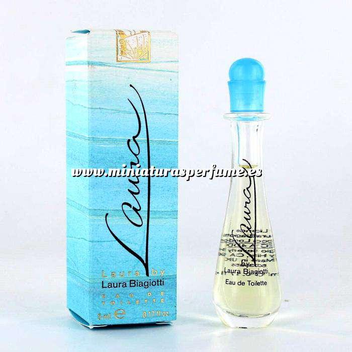 Imagen Mini Perfumes Mujer Laura Eau de Toilette by Laura Biagiotti 5ml. (Últimas Unidades)