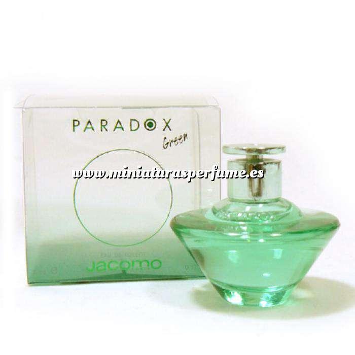 Imagen Mini Perfumes Mujer Paradox Green Eau de Toilette by Jacomo 5ml. (Ideal Coleccionistas) (Últimas Unidades)