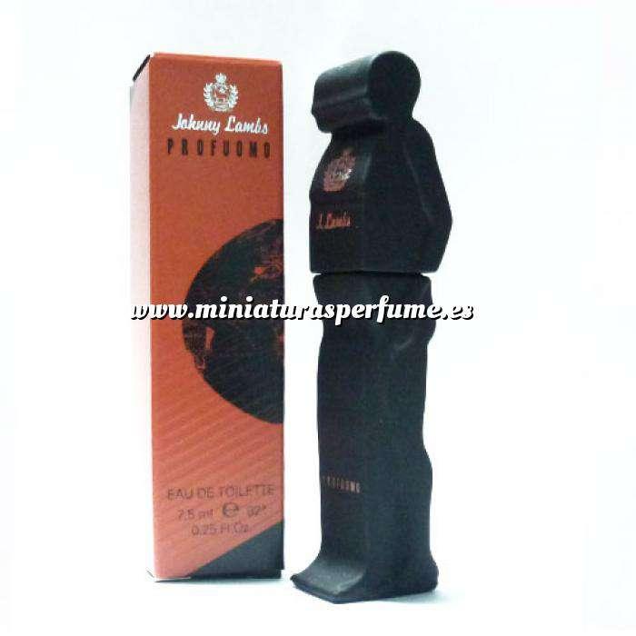 Imagen Mini Perfumes Mujer Profuomo Eau de Toilette de Johnny Lambs 7,5ml. (IDEAL COLECCIONISTAS) (Últimas Unidades)