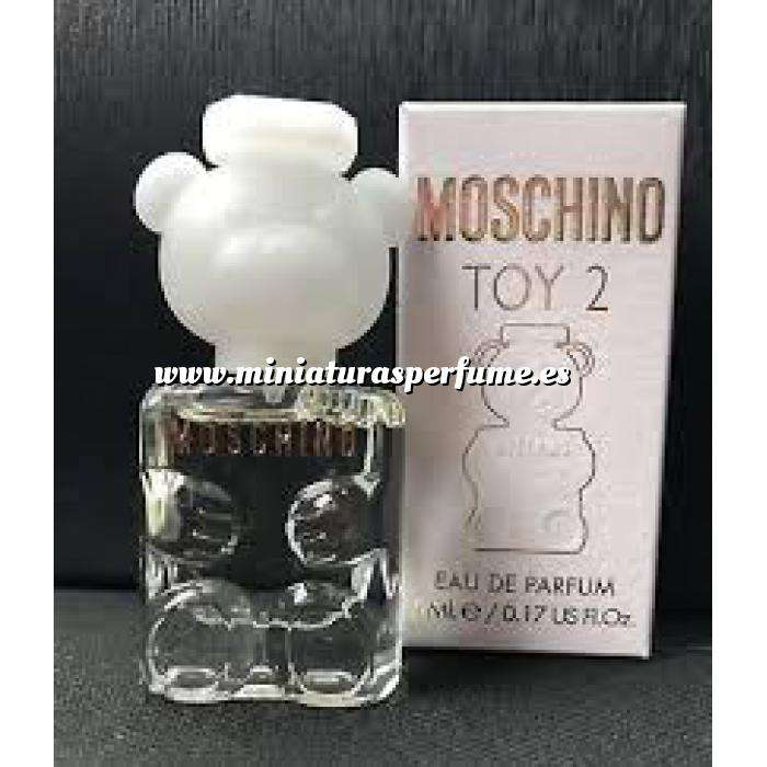 Imagen Mini Perfumes Mujer Toy 2 de Moschino EDP para mujer by Moschino 5ml. (Últimas Unidades)