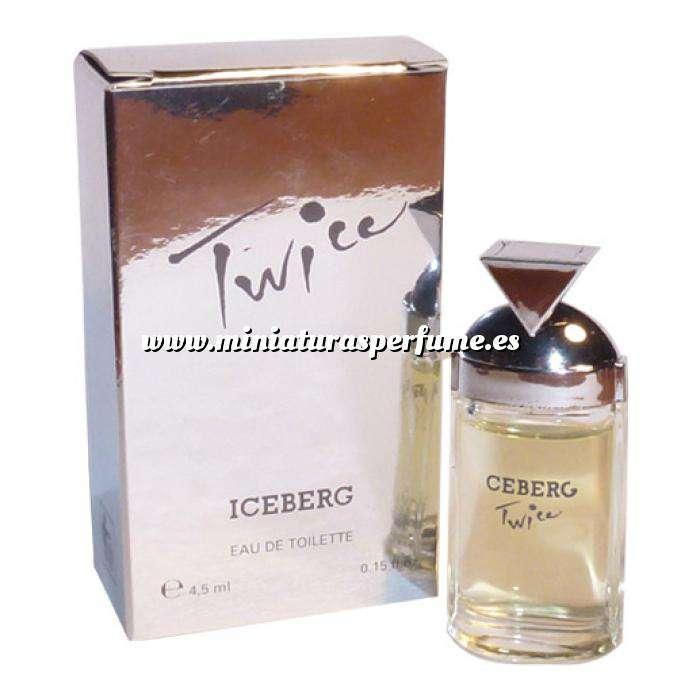 Imagen Mini Perfumes Mujer Twice Eau de Toilette by Iceberg 4,5ml. (IDEAL COLECCIONISTAS) (Últimas Unidades)