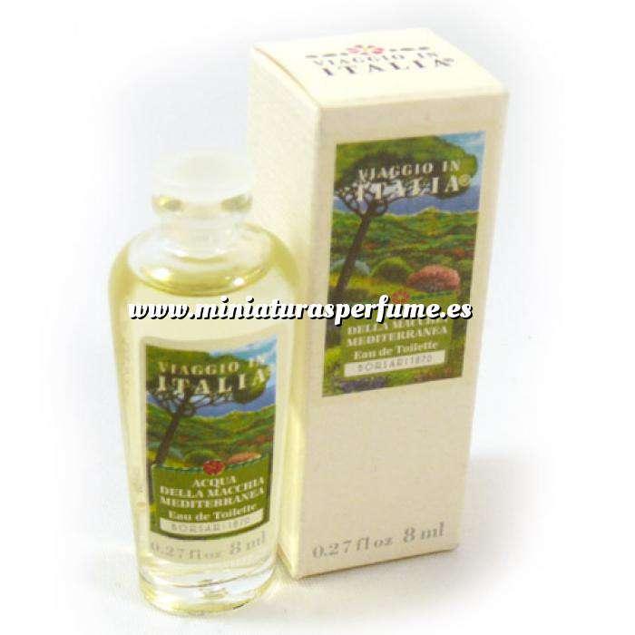 Imagen Mini Perfumes Mujer Viaggio in Italia Acqua della Macchia Mediterranea 8ml.(Ideal Coleccionistas) (Últimas Unidades)