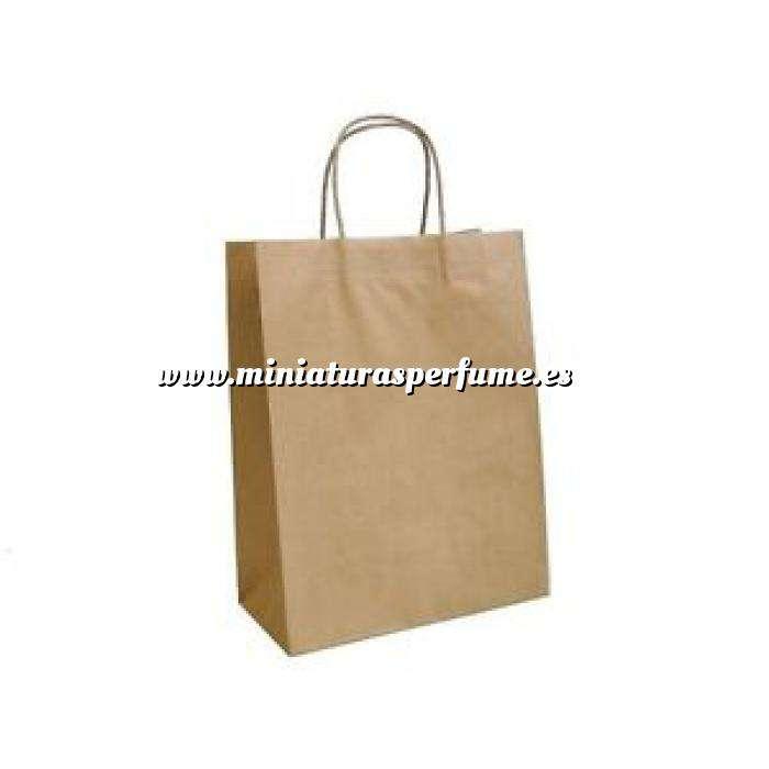 Imagen ¿Es para regalo? Bolsa Kraft 21x15x8 cm. con asas