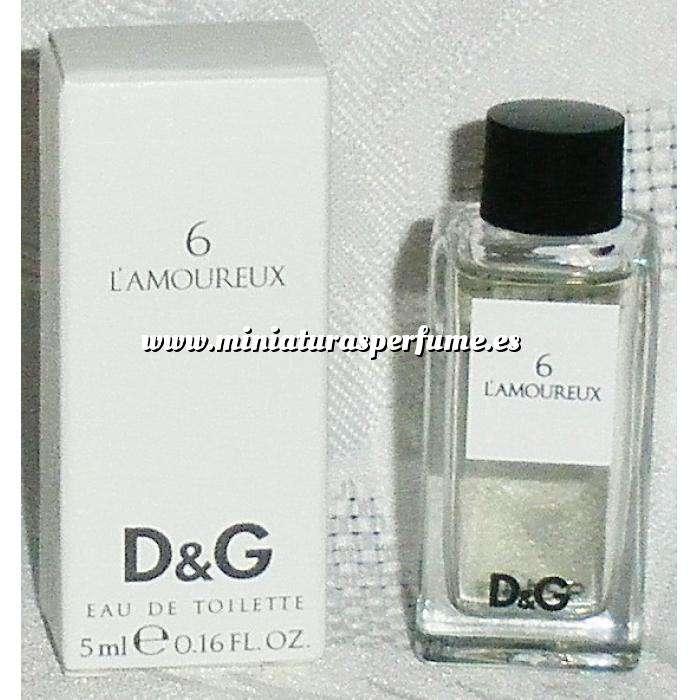 Imagen -Mini Perfumes Hombre 6 L Amoureux Eau de Toilette by Dolce & Gabbana 5ml. (IDEAL COLECCIONISTAS) (Últimas Unidades)