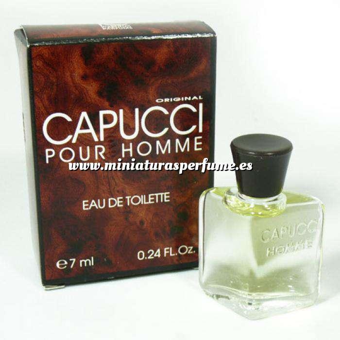 Imagen -Mini Perfumes Hombre Capucci pour Homme Eau de Toilette by Roberto Capucci 7ml. (Últimas Unidades)