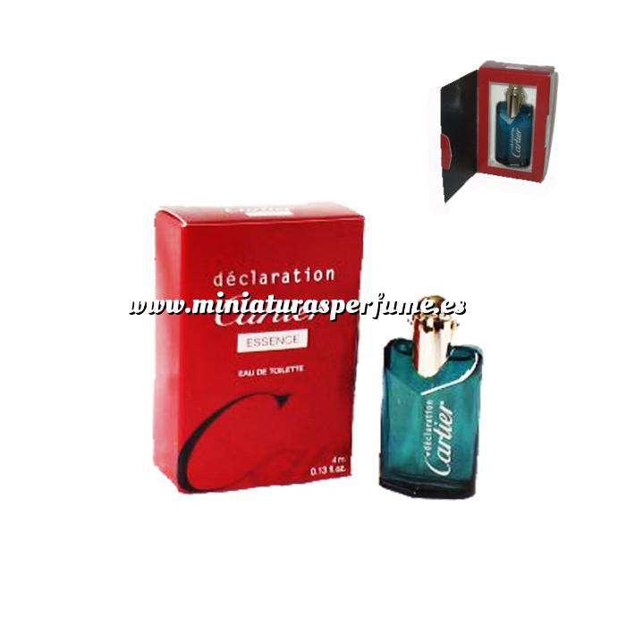 Imagen -Mini Perfumes Hombre Déclaration Essence (No varporisateur) Eau de Toilette by Cartier 4ml. (Últimas Unidades)