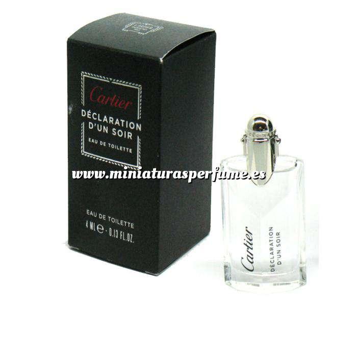 Imagen -Mini Perfumes Hombre Déclaration d Un Soir Eau de Toilette by Cartier 4ml. (Últimas Unidades)