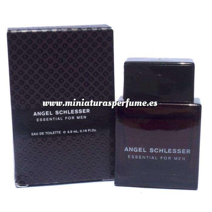 Imagen -Mini Perfumes Hombre Essential For Men Eau de Toilette by Angel Schlesser 5ml. (Últimas Unidades)