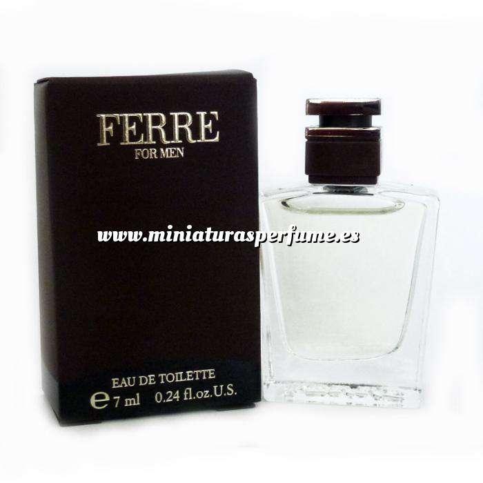 Imagen -Mini Perfumes Hombre Ferre For Men Eau de Toilette by Gianfranco Ferre 7ml. (Últimas Unidades)