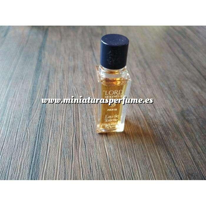 Imagen -Mini Perfumes Hombre Lord Molineux eau de toilette 7ml. (Últimas Unidades)