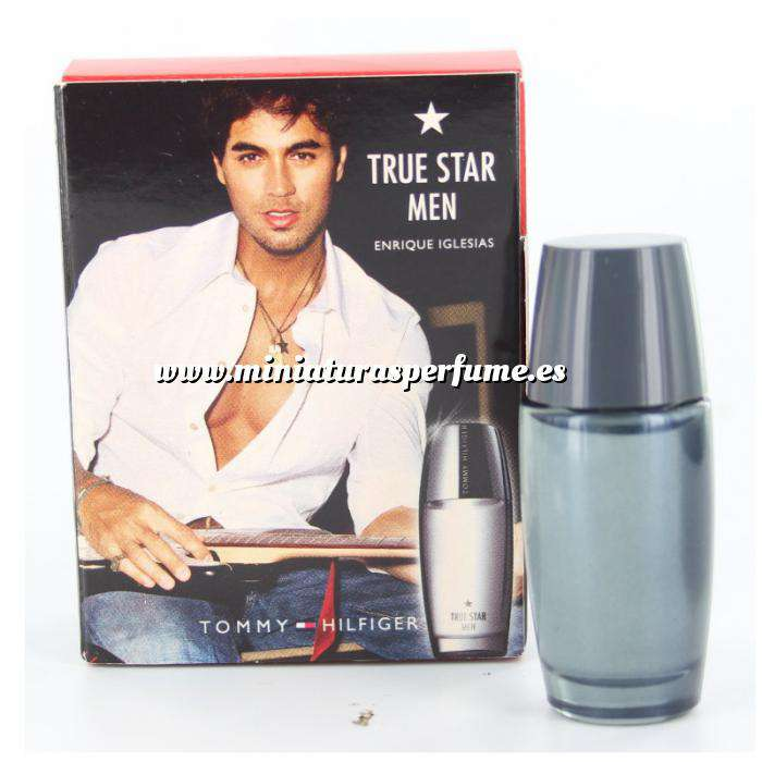 Imagen -Mini Perfumes Hombre True Star Men Enrique Iglesias Eau de Toilette by Tommy Hilfiger 7ml. (Últimas Unidades)