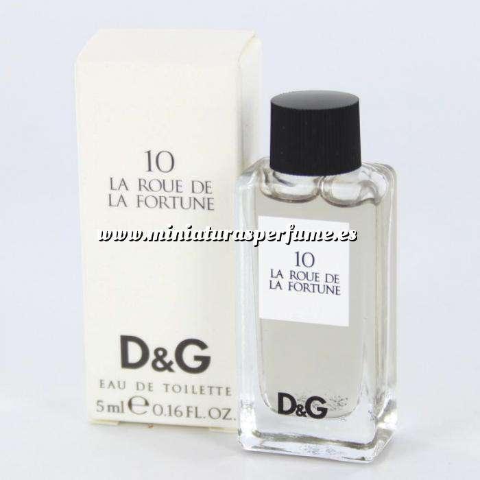 Imagen -Mini Perfumes Mujer 10 La Roue de la Fortune Eau de Toilette by Dolce & Gabbana 5ml. (IDEAL COLECCIONISTAS) (Últimas Unidades)
