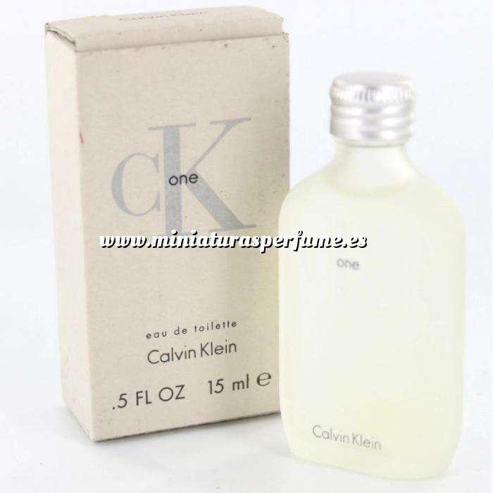 Imagen -Mini Perfumes Mujer CK One Eau de Toilette by Calvin Klein 15ml. (Últimas Unidades)
