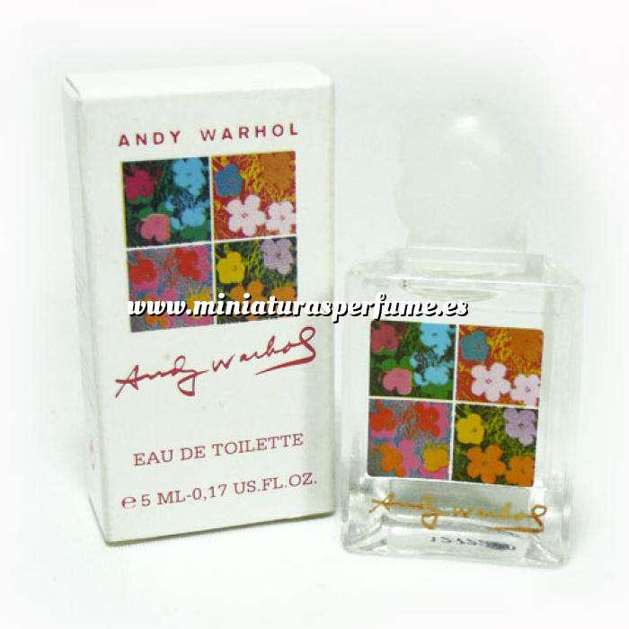 Imagen -Mini Perfumes Mujer Flowers Eau de Toilette by Andy Warhol 5ml. (Caja pequeña) (Últimas Unidades)