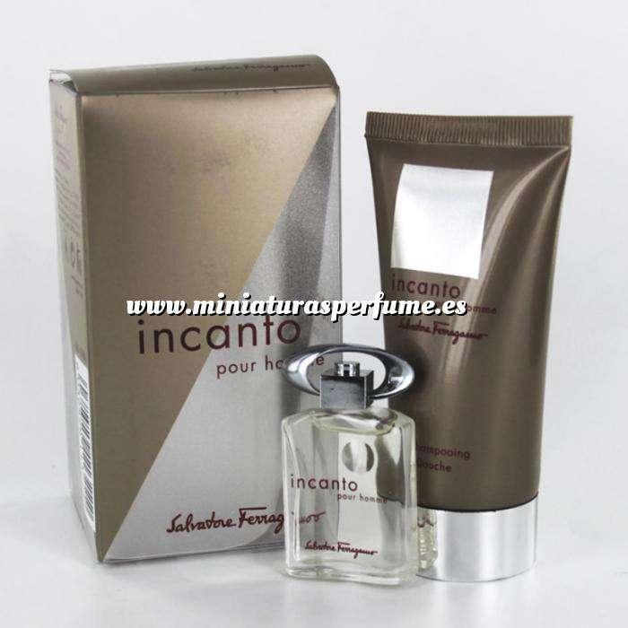 Imagen -Mini Perfumes Mujer Incanto pour homme (Eau de Toilette más Gel Shampooing) by Salvatore Ferragamo (Últimas unidades)